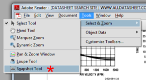 Digitize data in PDF datasheets